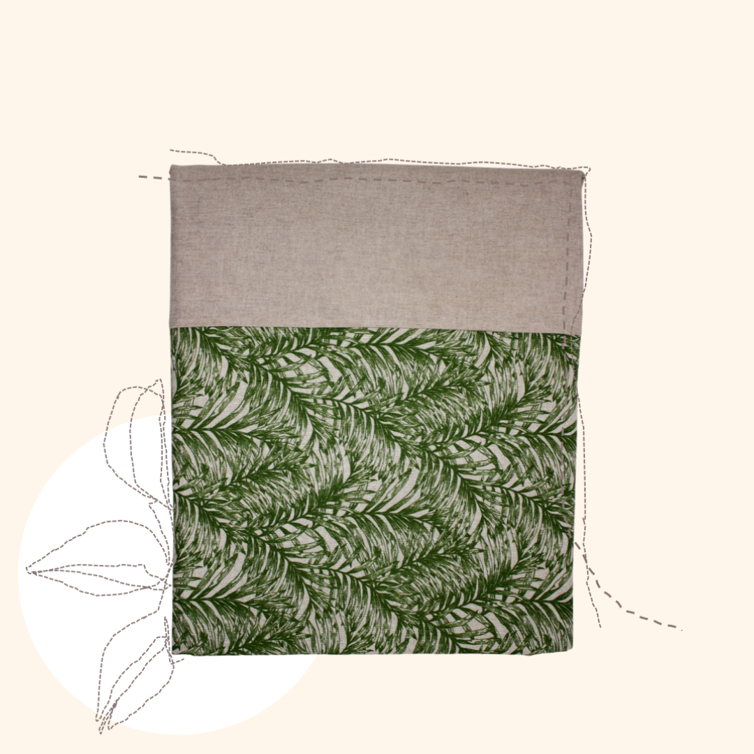 Green Palm Tablecloth