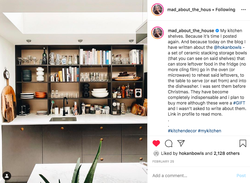 Mad About the House (Kate Watson Smyth) Instagram Post