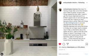 Emily Wheeler Interiors Instagram Post